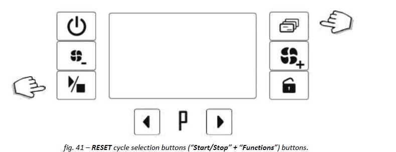 Hvordan stoppe og resette en SMEG maskin